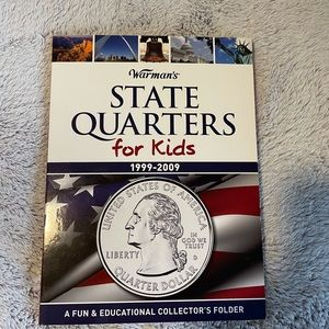 State quarters for kids collectors folder